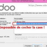 Installer Odoo sous Windows avec succès !