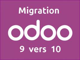 migration odoo 9 vers 10