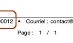 Modifier pied de page Devis et Factures – Odoo13