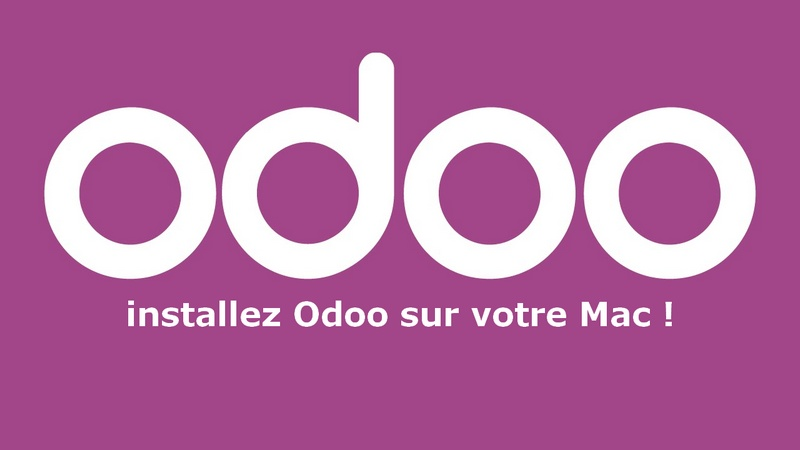 Installation Odoo MacBook ou iMac