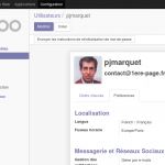 Paramétrage de base Odoo pour Sites Web
